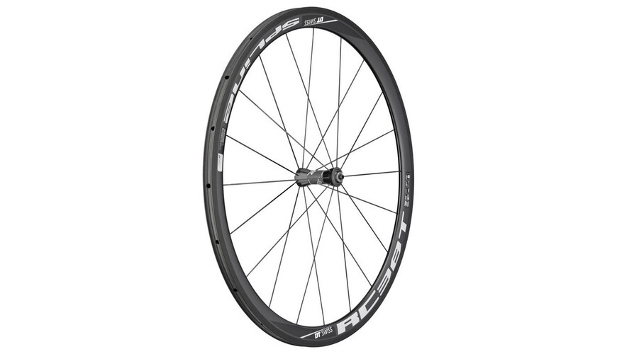 "DT Swiss RC 38 Spline T Laufrad 28"" VR Carbon 100/5 mm"